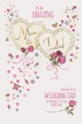 Mum & Dad Wedding Day Card